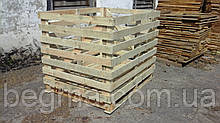 Контейнер деревянный для капусты
