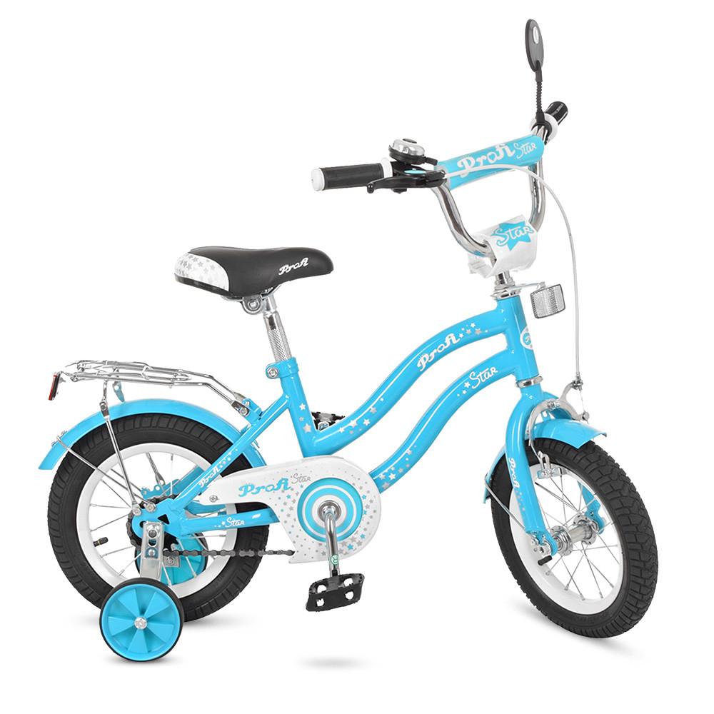Велосипед детский PROF1 14д. L1494 Голубой