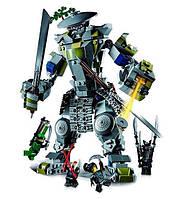 Битва с Титаном Они, конструктор, Герои ниндзя, Jvtoy, фото 1