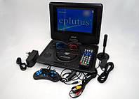 Портативный DVD плеер Eplutus EP-9521T с цифровым тюнером Т2 (9.5 дюймов) телевизор