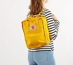 Рюкзак FJALLRAVEN KANKEN + Органайзер  ( 7 цветов ) Желтый