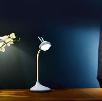 """Лампа настольная """"Кролик"""" 3DTOYSLAMP голубая, фото 1"""