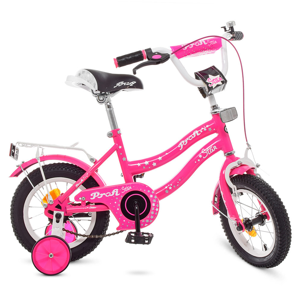 Велосипед детский PROF1 12д. Y1292 Розовый