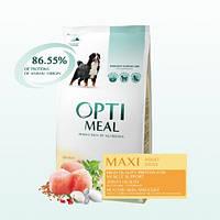 "Optimeal ""Курица"". Пакет. Сухой корм для собак больших пород. 1.5кг."