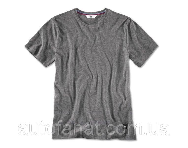 Оригинальная мужская футболка BMW T-Shirt, Men, Space Grey Melange (80142411067)