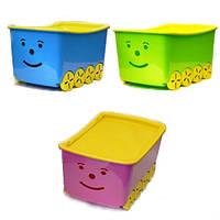 Ящик для детских игрушек Tega Play 52L BQ-005