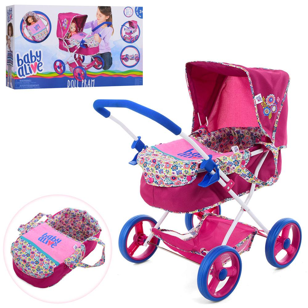 Лялькова коляска Baby Alive Classic Pram Doll D-86491