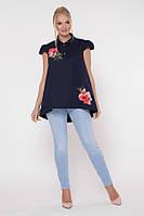 Блузка Розмари Синяя, фото 1