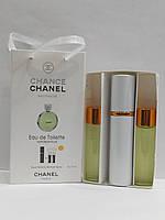 Наборы духов копия 3*15мл Chanel Chance Eeau fraiche Woman 45ml