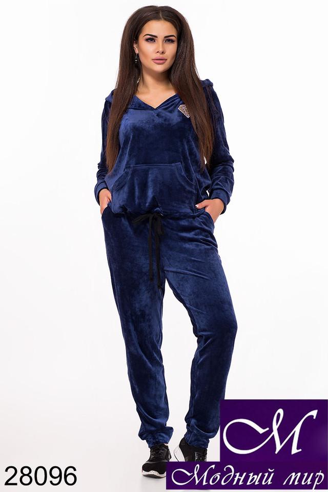 c75d8c06 Женский велюровый спортивный костюм большого размера — купить в ...