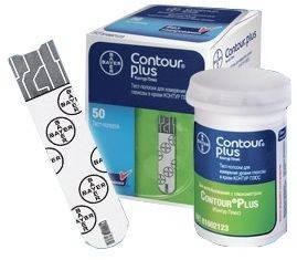 Тест-полоски Contour Plus