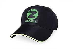Кепка ZEMEX (чёрная с шевроном)