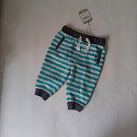 Спортивные штаны полосатые Tu (Англия) р.62-68 (3-6мес.)