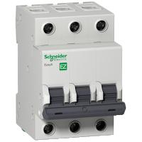 Автоматический выключатель Easy9 - 3P - 10 A - кривая С - 4500 A - 230 В