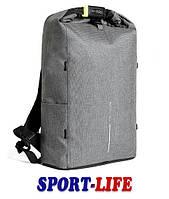 Рюкзак антивор XD Design Bobby Urban Lite, серый, против краж, фото 1