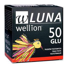 Тестові смужки для глюкометрів Wellion
