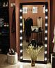 Зеркало в раме с подсветкой по боках в полный рост, фото 2