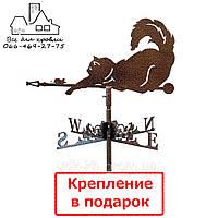 Флюгер на крышу Кот с мышкой (Кiт з мишкою)