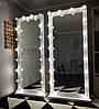 Зеркало с подсветкой буквой П, в полный рост на колесах M610 paks, фото 4