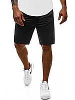 Шорты мужские летние стильные, цвет черный, фото 1