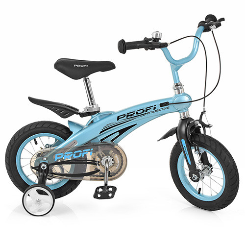 Велосипед дитячий PROF1 12д. LMG12121 Блакитний