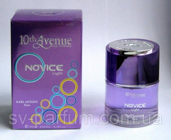 Туалетная вода женская 10th Avenue Novice Light 100ml