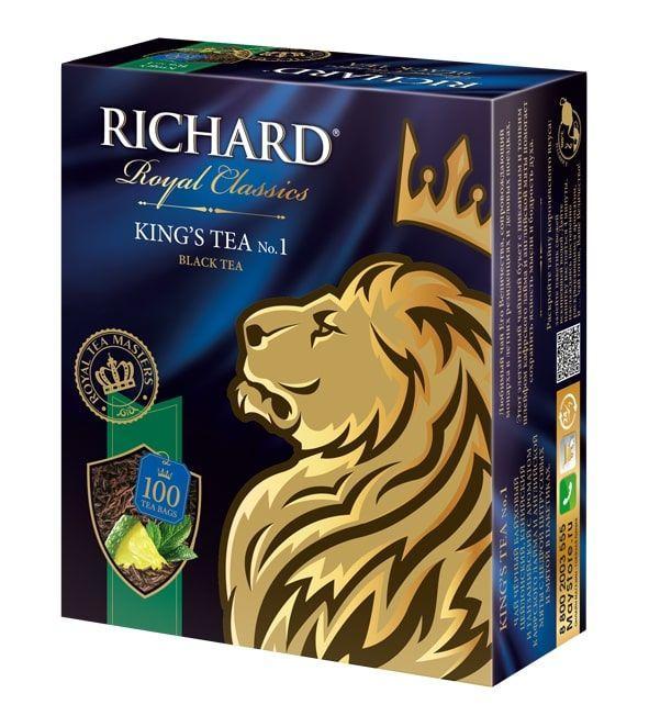 * Чай черный Richard King's Tea 90 гр.