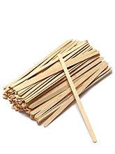 Мішалки дерев'яні 140 мм, 800 шт