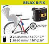 Дитяче велосипедне крісло BELLELLI Summer Standart B-fix до 22 кг SAD-99-09 сірий/червоний, фото 7