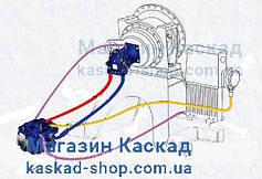 Гідромотори, гідронасоси (Гідростатика). коробки відбору потужності (КОМ) для Автобетонозмішувачів.