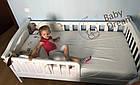 Детская кроватка с бортиками от 3 лет (подростковая) Baby Dream, фото 2