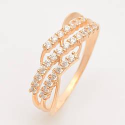 Золотое кольцо с фианитами ГП20913