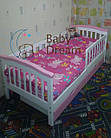 Детская кроватка с бортиками от 3 лет (подростковая) Baby Dream, фото 6
