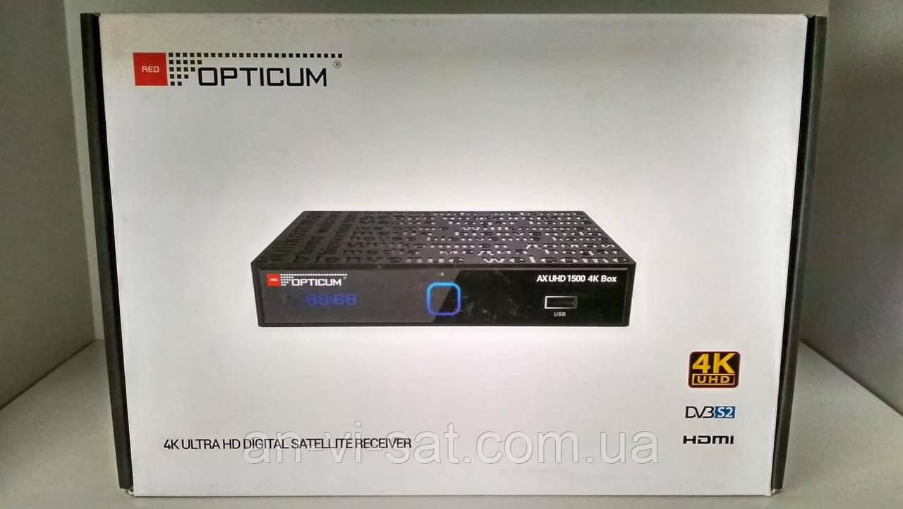 Спутниковый ресивер OPTICUM AX UHD 1500 (Android)