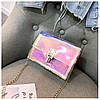 Cумка женская розовая из акрилового пластика, фото 6