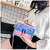 Cумка женская розовая из акрилового пластика, фото 9