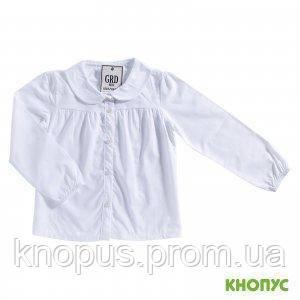 Блузка с длинным рукавом (белая), Girandola, размеры 110, 116