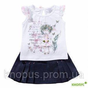 "Летний комплект ""Лесная фея"" (футболка, юбка), Garden baby? hfpvth 92"