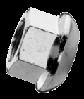 Гайка колесная М12х1.5 шестигранная метрическая, мелкий шаг резьбы, сталь, кл. пр. 8, ЦБ (DIN 74361A)