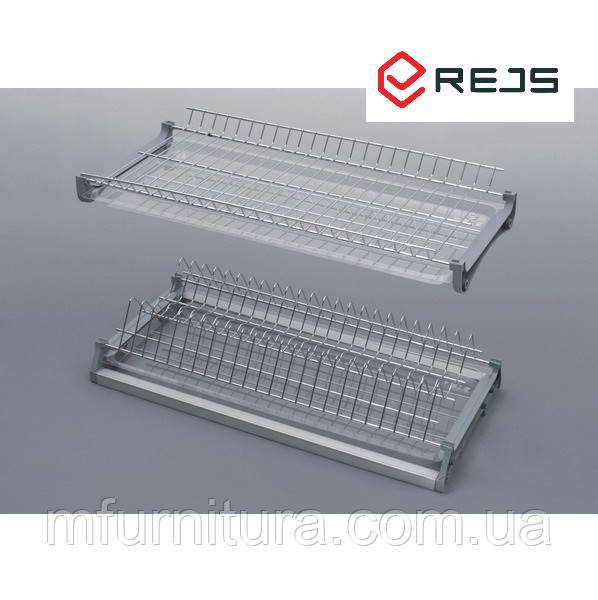 Сушка для посуды, 700 мм, хром  с рамой (Variant 3) - Rejs (Польша)