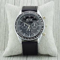 Часы G-060 с японским механизмом, диаметр циферблата 4.2 см, длина ремешка 18-22 см, чёрный цвет