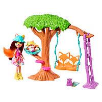 Набор Enchantimals Домик на дереве для Лисички Фелисити и Флика (FRH44/FRH45)