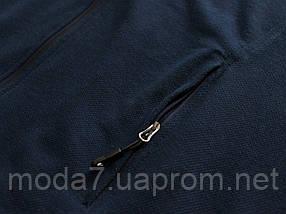 Спортивный костюм мужской Nike батал 56р-62р синий Турция реплика, фото 3