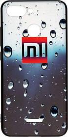 Накладка Xiaomi Redmi6 3D Rain