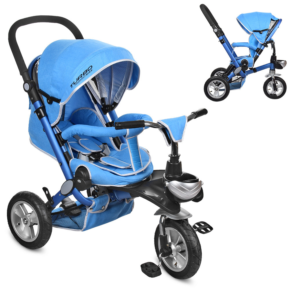 Велосипед M AL3645A-12 Голубой TURBOTRIKE