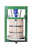 Пресс для сока 50л с домкратом, давление 10 тон, гидравлический. Для яблок, винограда, сыра и тд.