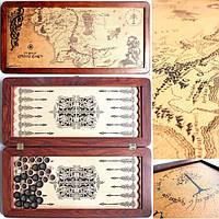 Нарды средние Легенда Толкиен Карта 51см