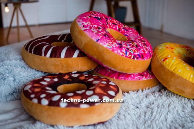 3D Подушка декоративная Пончик