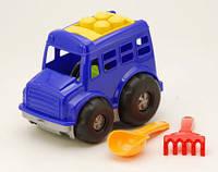 Машинка с набором для песка Автобус Бусик №1