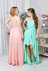 Легкое летнее платье с открытым декольте, фото 2